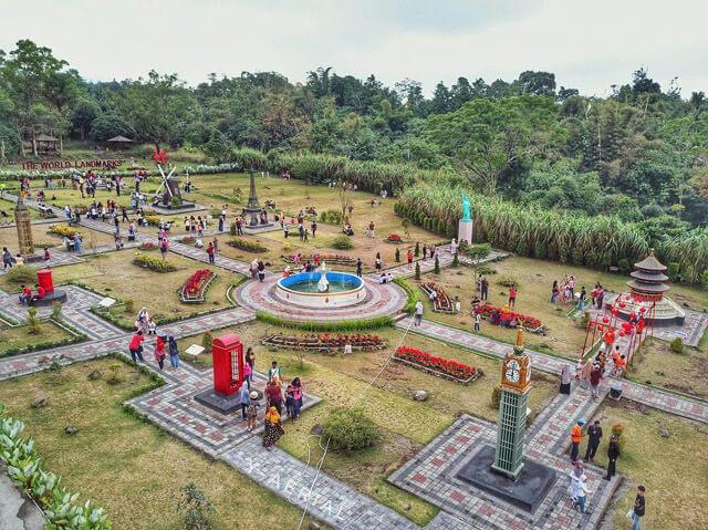 Merapi Park tempat wisata jogja