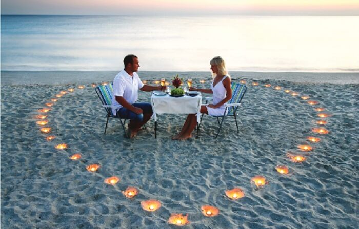 makan romantis