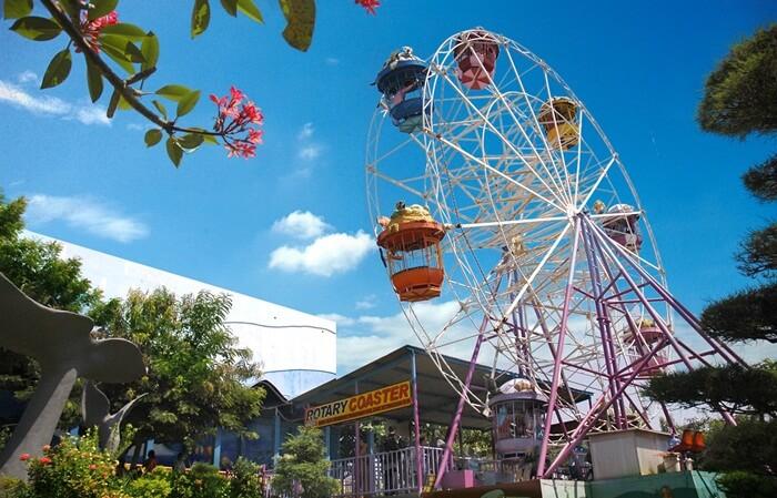 rotary coaster