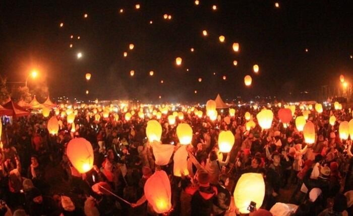 Festival Lampion Pantai Bandengan