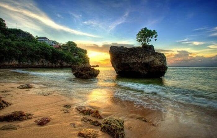 Sunset Pantai Suluban