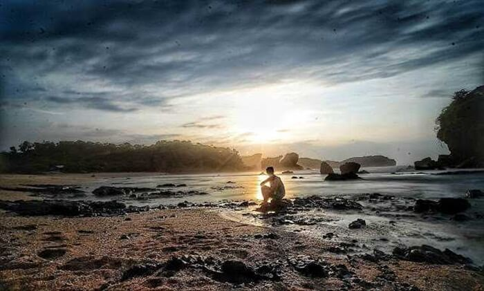 Sunset Pantai jungwok