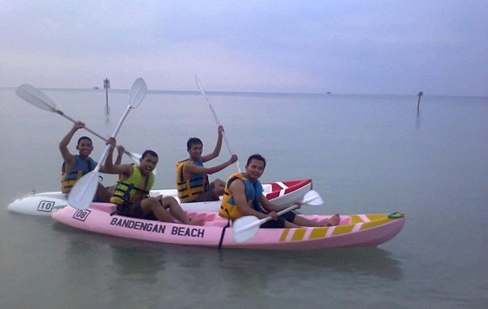 Water Sport Bandengan Beach