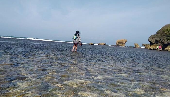 pantai landai Pantai Ngandong