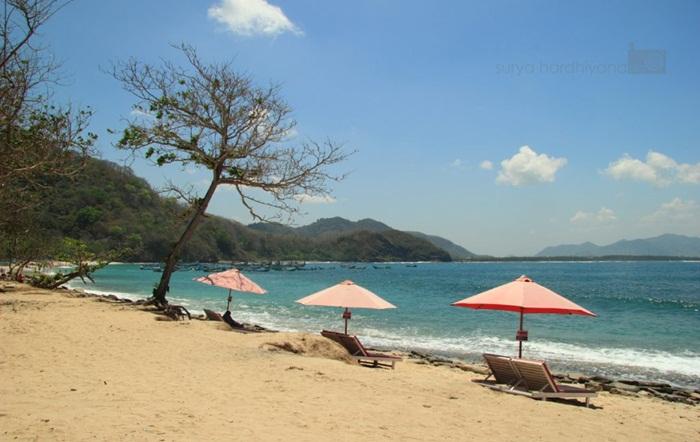payung pantai Papuma