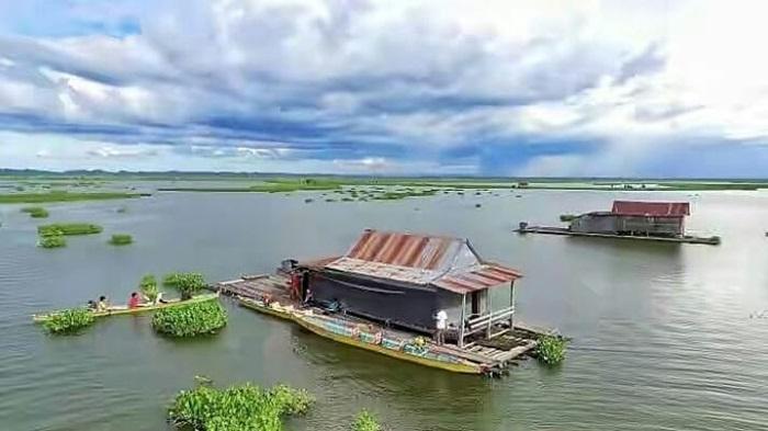 Danau Tempe, danau indah dnegan kekayaan ikanmelimpah di sulawesi selatan
