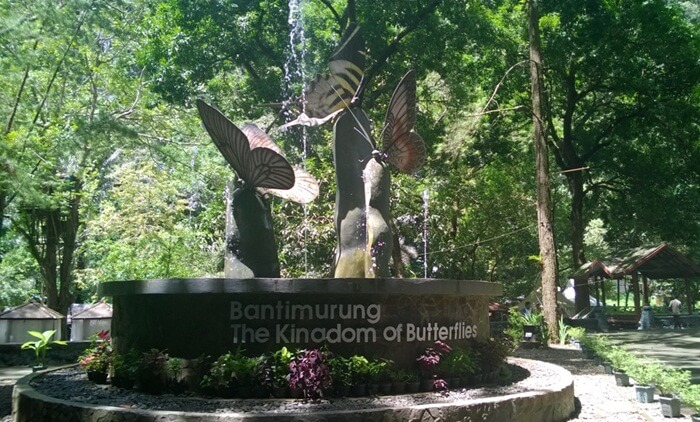 Landmark Taman Kupu-Kupu, lokasi penangkaran dan pengawetan spesimen kupu kupu langka