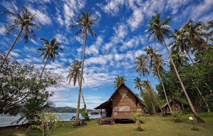 Panrama pantai pulau cubadak yang menawan hati