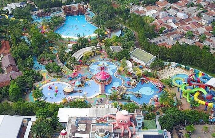 Ocean park BSD, water park yang masuk dalam katagori 17 terbaik se asia pasific