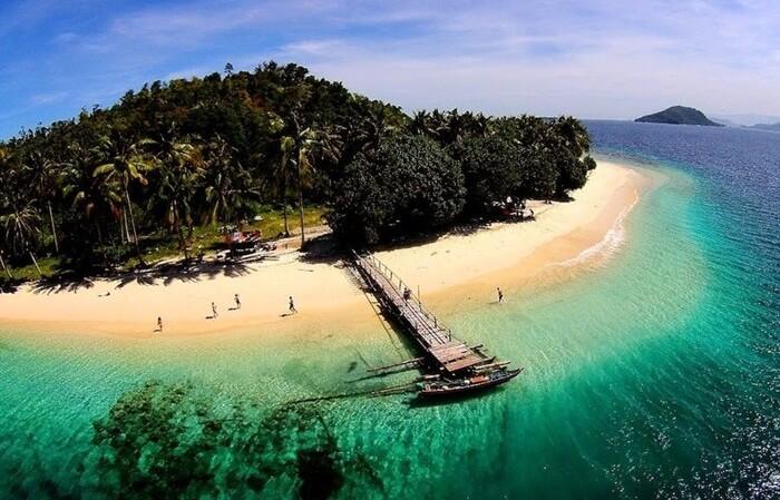 Pulau Cubadak, pulau dengan fasilitas resort bintang 5