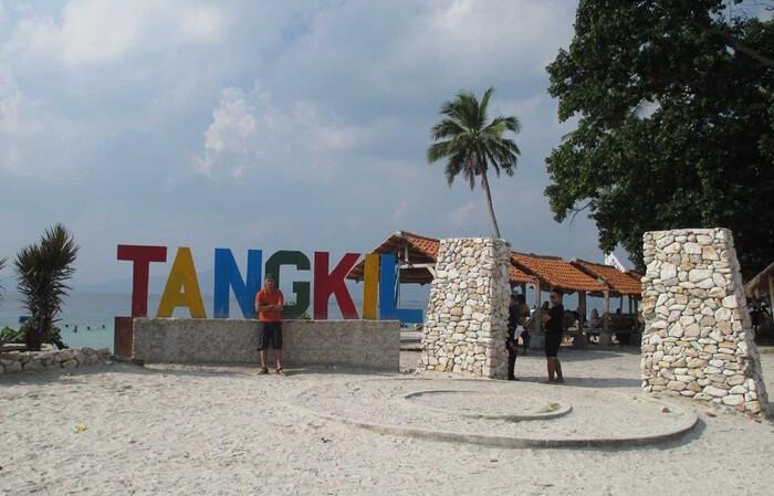 Pulau Tangkil Sebuah pulau resort wisata di teluk Lampung