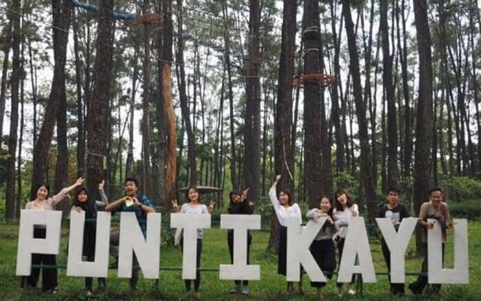 Punti Kayu, hutan wisata alam yang ada di tengah kota Palembang