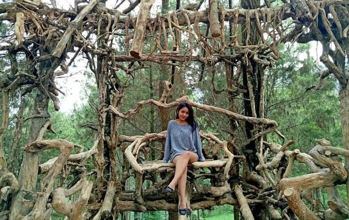 Spot pertama Goa Pinus Malang