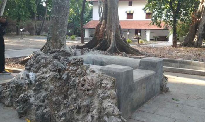 Sumur Pengantin berada di kawasan Kebon Jimat Keraton Kanoman Cirebon, 1 dri 7 sumur keramat keraton cirebon