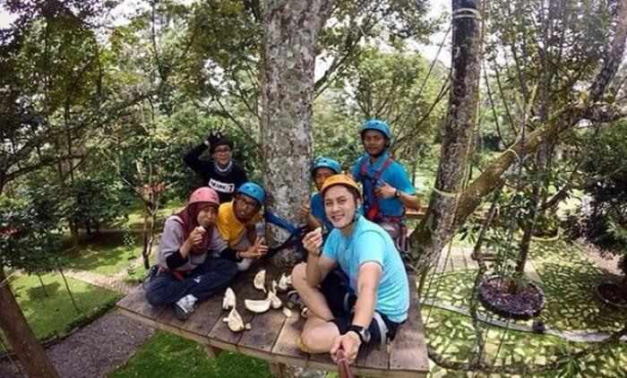 kebun mencari durian watusimbar, wisata durian runtuh di bandungan semarang