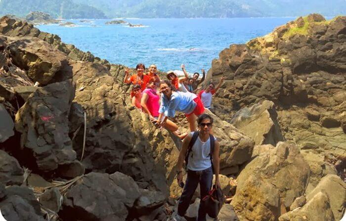 Rute perjalanan menuju Laguna Dodo