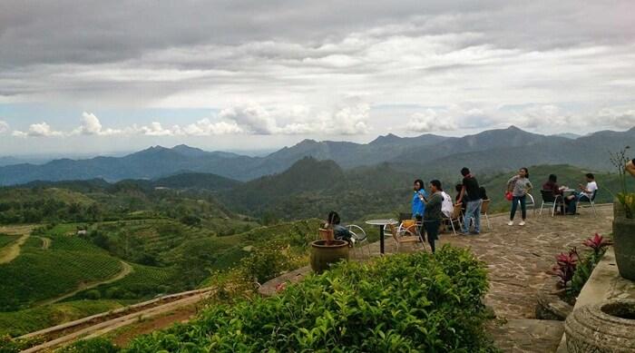 luasnya alam Malino dilihat dari ketinggin Malino Highlands