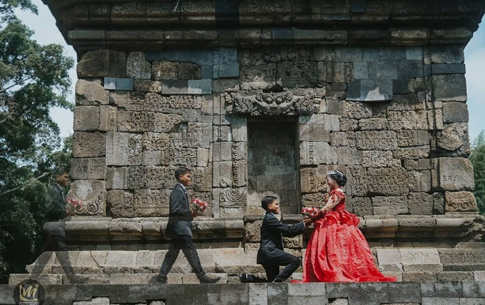 prewedding Candi Badut