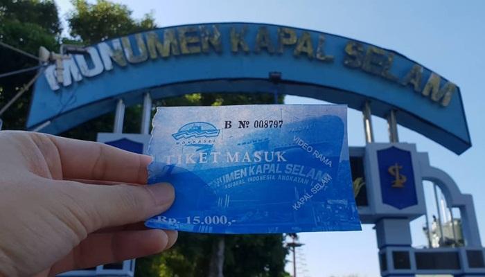 tiket masuk terbaru monumen kapal selam surabya