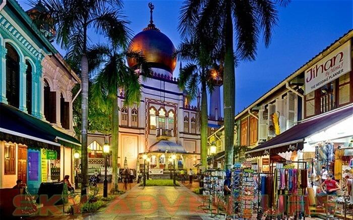 ARAB-STREET-singapore tempat wisata di singapura yang menyajikan produk khas timur tengah dan juga makanan halal