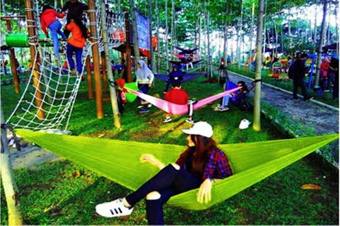 Bukit Dhoho Indah, bukit yang populer dengan ratusan hammock gratisnya