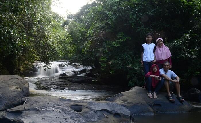 Air terjun Kedang ipil sesuai untuk wisata keluarga, karena air terjun yang tidak ekstrim