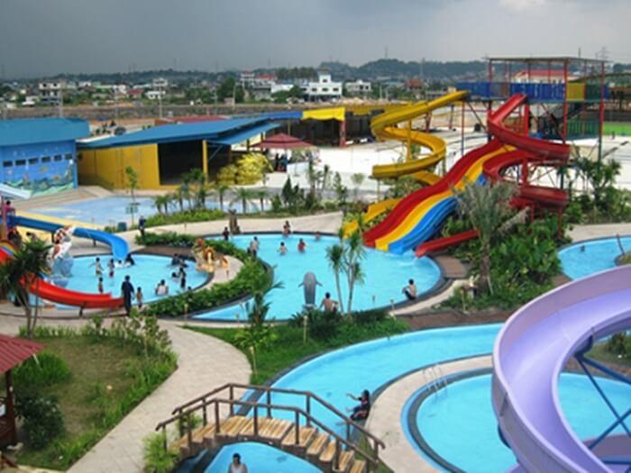 Gumul Paradise Island, taman bermain di kediri yang memeilki fasilitas hiburan air, darat dan udara
