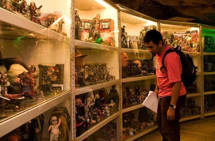 Penang toy museum, tempat wisata di penang yangmemamerkan berbagai mainan dari seluruh belahan dunia