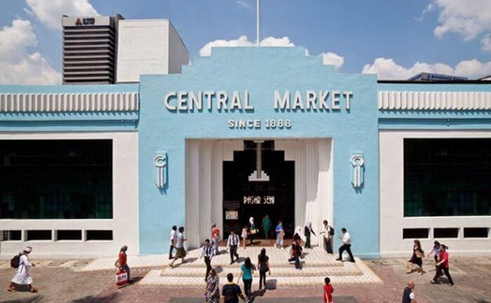 central market, tempat wisata di kuala lumpur untuk berbelanja yang terbesar seklaigus tempat wisata kuliner