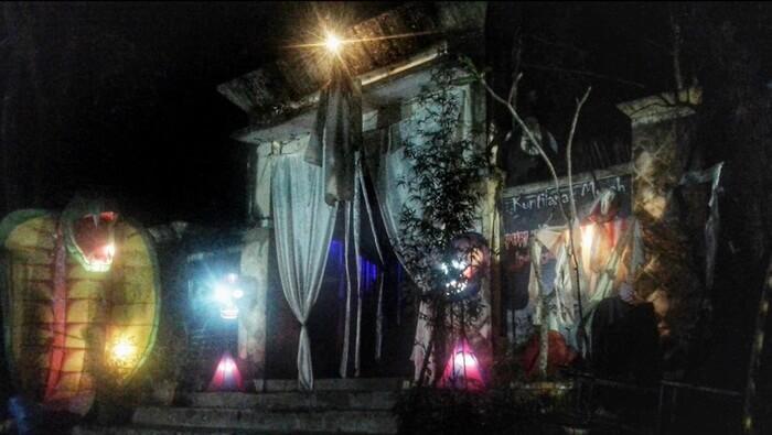 puri hantu di taman pelangi jogja tampil beda dengan hnatu yang bisa muncul secara mendadak