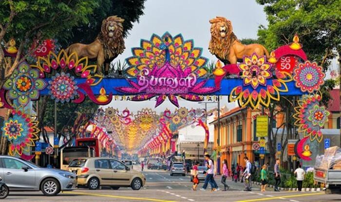 little-india kawasan wisata di singapura yang merupakan pusat pemukiman dan aktivitas warga keturunan india