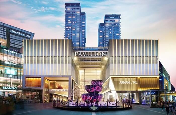 Pavillion Kuala Lumpur, tempat wisata di kuala limpur lokasi gerai barang barang bermerek dan mahal dari seluruh dunia