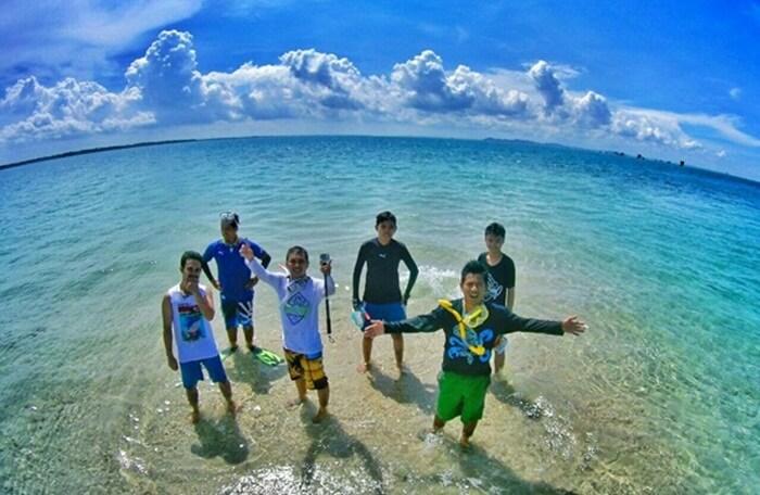 pulau gusum lokasi wisata di penajama paser utara yang cocok untuk menikmati snorkeling dan diving