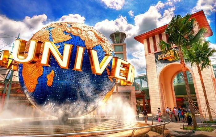 Universal Studio Singapura salah satu tempat wisata di sigapura paling populer