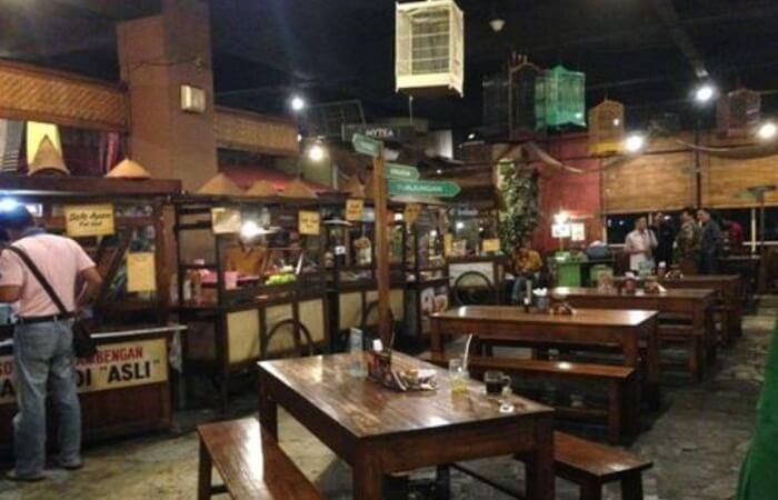 warung babe surabaya, kuliner surabay murah meriah dengan interior cantik