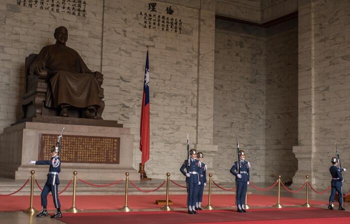 Tempat wisata di Taipei ini dibangun untuk mengenang mantan presiden Cina, Chiang Kai-shek.