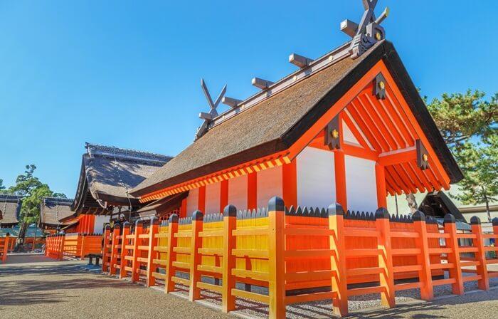 Tempat wisata di Osaka Sumiyoshi Taisha  atau Sumiyoshi Grand Shrine adalah salah satu kuil tertua di Osaka.