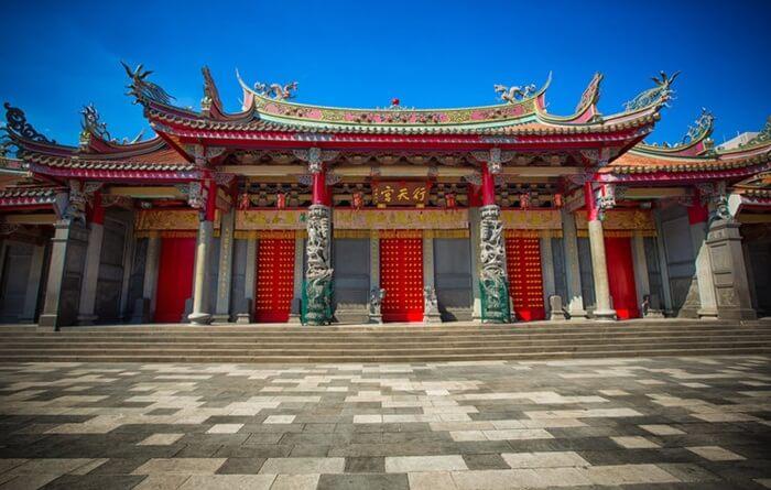 Tempat wisata di Taiwan ini dibangun pada tahun 1967. Desain bangunan dibuat dengan tampilan sederhana namun tetap bermartabat.