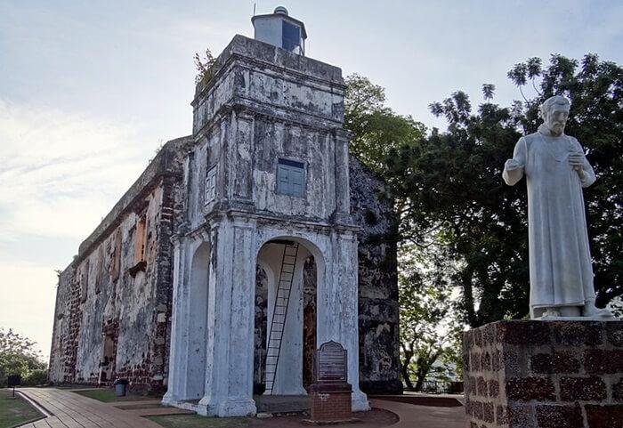 St. Paul's Church Malacca, tempat wisata di melaka yang menghadirkan gereja tua peninggalan portugis
