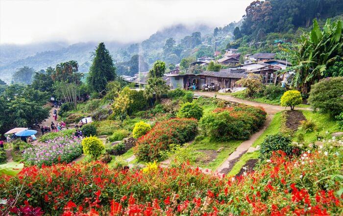 tempat wisata di Chiang Mai yang bisa memberikan gambaran mengenai Thailand di masa silam