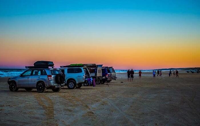 Banyak yang memilih berlibur dengan cara mendirikan kemah di tempat wisata di Australia ini.