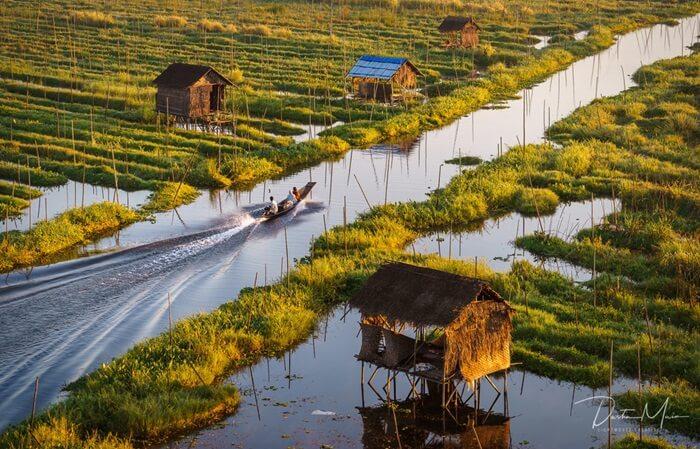 Danau Inle akan menjadi salah satu tempat wisata di Myanmar yang patut dikunjungi.