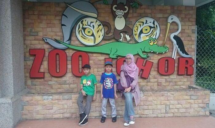 johor zoo, tempat wisata di johor bahru yang bisa dibilangs ebagai salah satu kebun binatang terbaik di Asia tenggara
