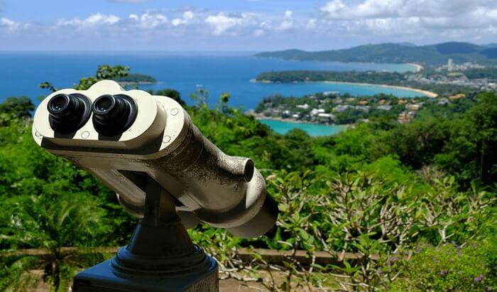 tempat wisata d phuket yang memungkinkan pengunjung mengamati keseluruhan wilayah wisata ini hanya dari 1 titik