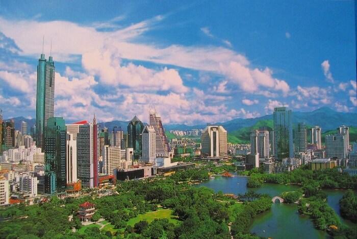 Tempat wisata di Shenzhen tidak hanya kuil, tetapi juga terdapat sebuah areal pemakaman