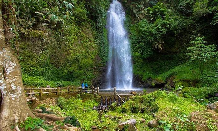 Air terjun tempat wisata karanganyar ini merupakan bagian dari Hutan Wisata Grojogan Sewu.