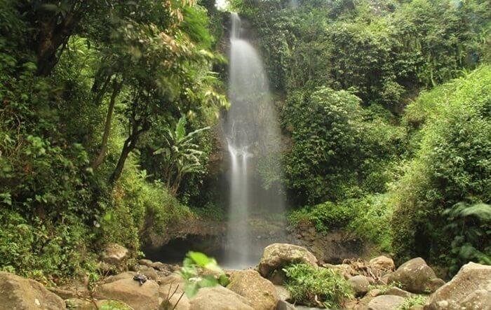 Air terjun tempat wisata madiun ini mempunyai ketinggian kurang dari 20 meter.