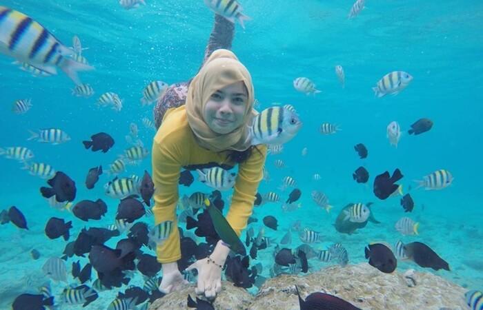 Pulau tempat wisata Aceh yang memiliki luas kurang lebih sekitar 26 Hektar ini, kini menjadi salah satu Destinasi wisata Internasional