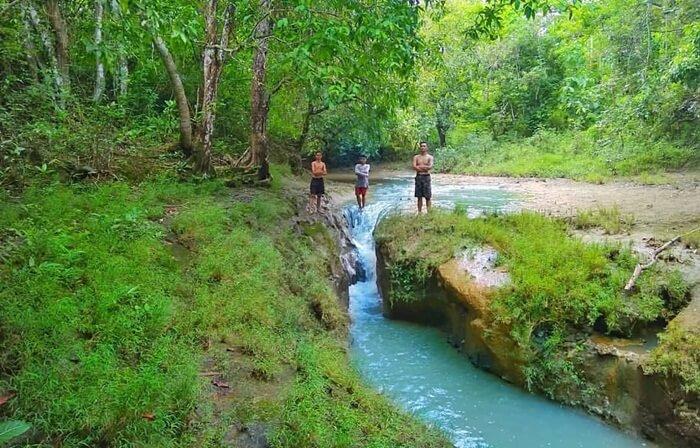 Air Terjun Masohan bukan hanya menyajikan keindahan alam yang begitu eksotis, namun juga menyimpan cerita sejarah di masa lampau.