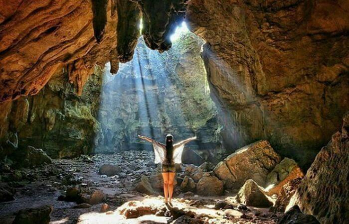 Eksotisme tempat wisata Blora Goa Terawang Blora, banyak memikat puluhan fotografer, baik lokal maupun nasional,
